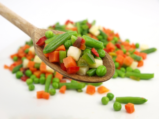 Какие блюда можно приготовить из замороженных овощей?