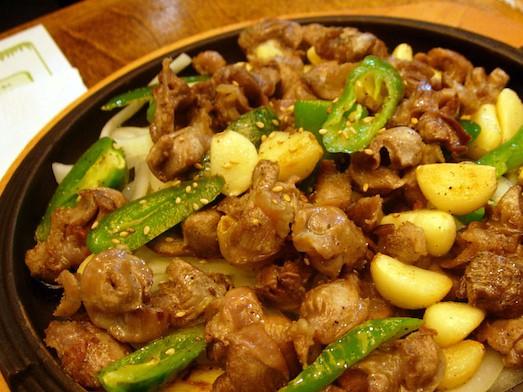 Блюда из куриных желудков и сердечек