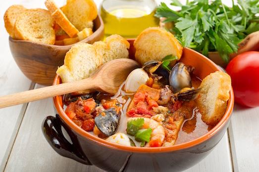 Буябес — сытный и вкусный рыбный суп