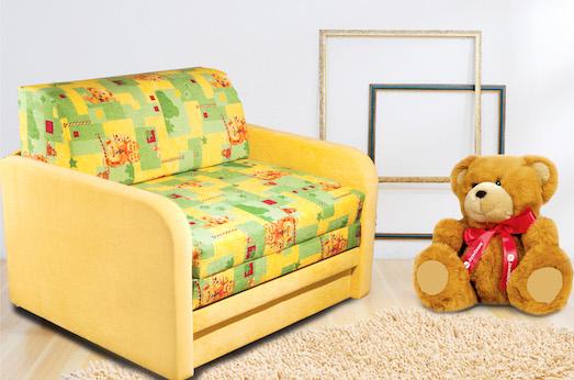 Какой диван лучше всего поставить в детскую комнату?