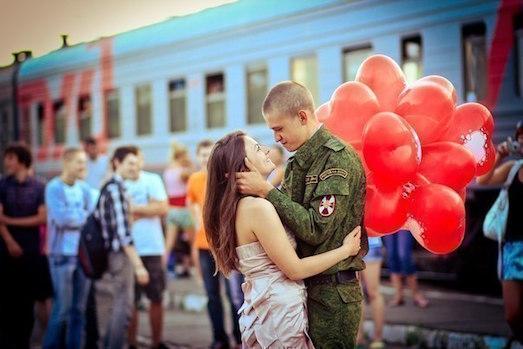 Интересные идеи для встречи парня из армии