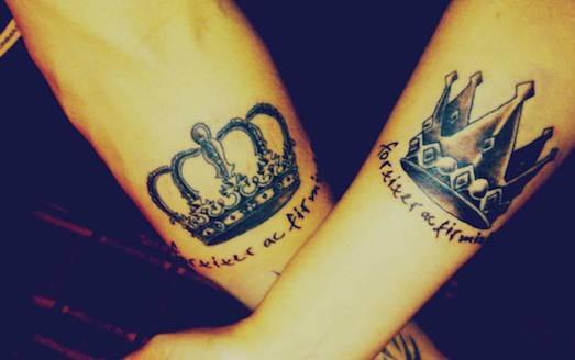 Татуировка корона - значение, эскизы тату и фото