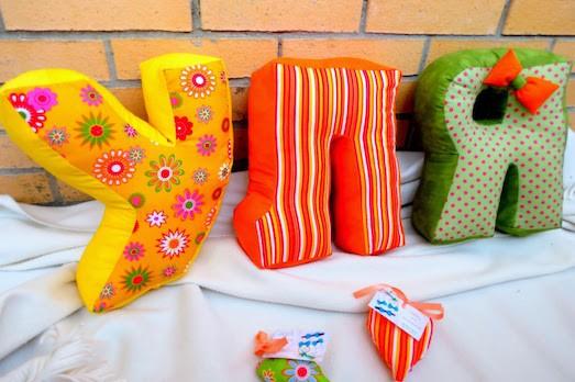 Шьем мягкие объемные буквы-подушки своими руками