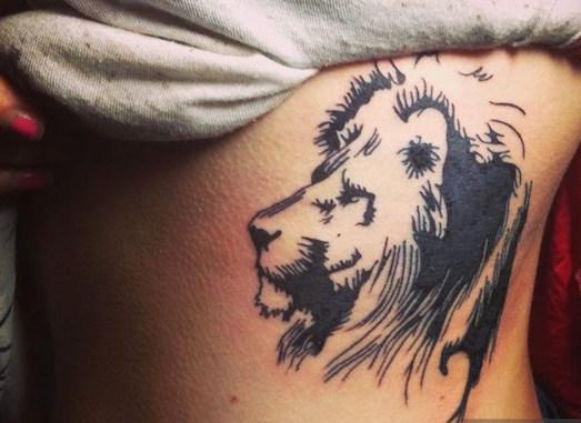 Что означает татуировка в виде льва?