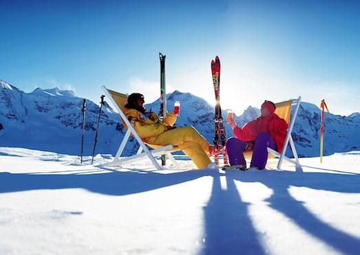 Куршевель — роскошный горнолыжный курорт