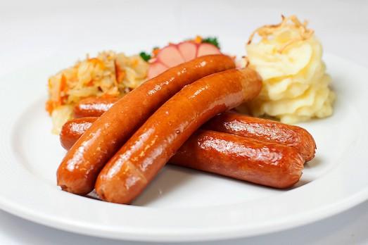 Баварские колбаски рецепт с фото