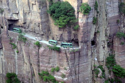 Список самых опасных дорог в мире