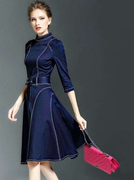 красивые осенние платья фото