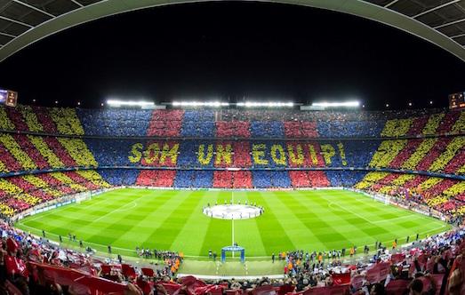 10 самых больших футбольных арен в мире
