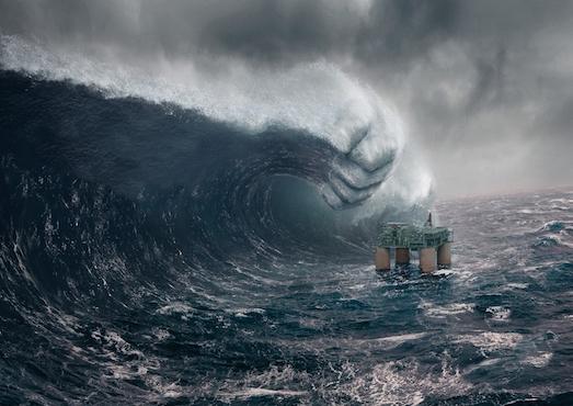 10 самых разрушающих цунами в мире