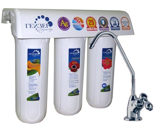 Советы по выбору фильтра для воды под мойку