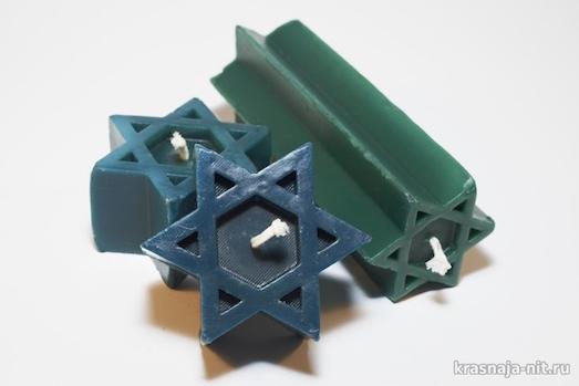 Обереги из Израиля: иерусалимские свечи и именные подвески