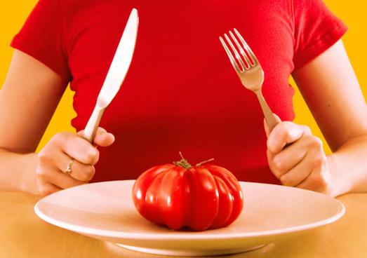 Основные принципы помидорной диеты
