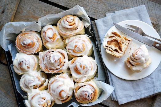 Синабон — ароматные и вкусные булочки