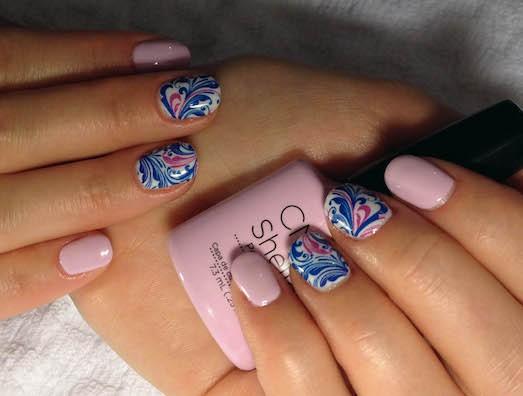 красивые ногти фото 2016 с рисунком слайдинг