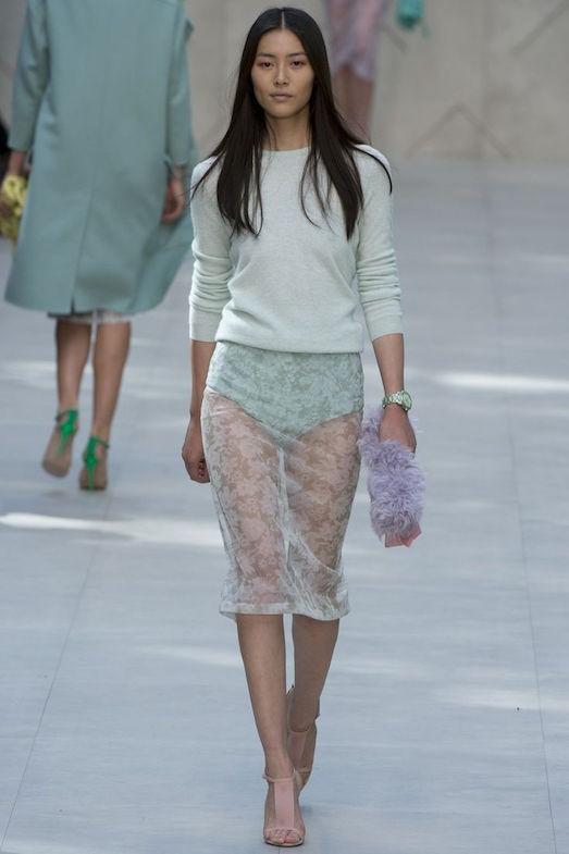 bc351db6a9b В продаже встречаются юбки и брюки с прозрачными элементами