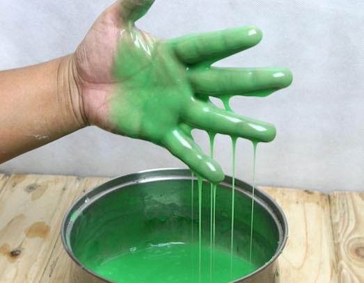 Как сделать лизуна с желатином