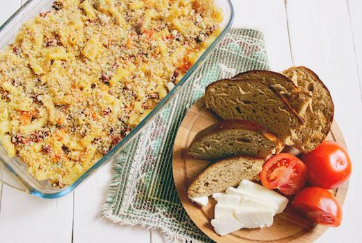 Запеканка из макарон — простое и вкусное блюдо