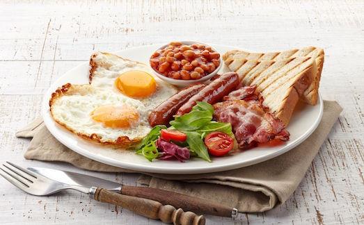 Из чего состоит английский завтрак?