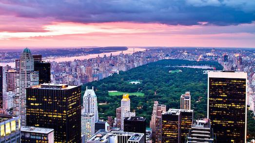 Десять удивительно красивых городских парков