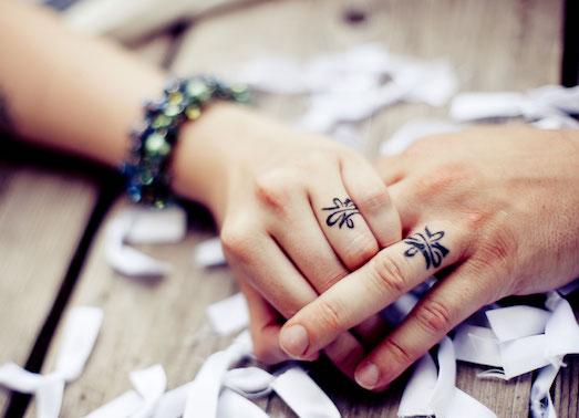 Отличные идеи для парных татуировок