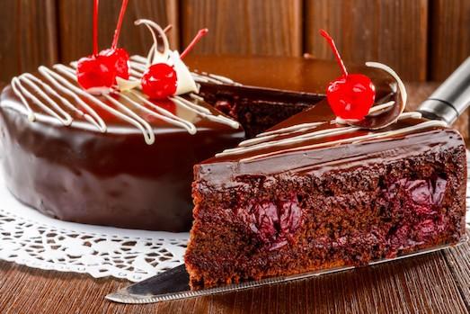 как приготовить торт пьяную вишню?