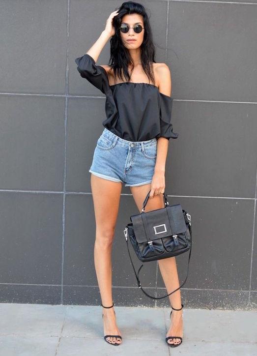 Модные и стильные шорты-американки