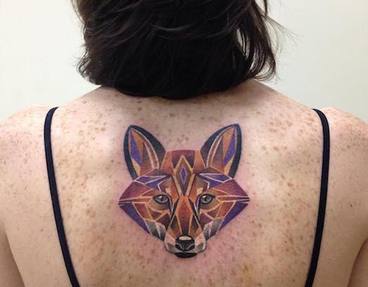 Интересные примеры татуировок с животными
