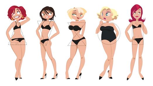 Особенности похудения для фигуры прямоугольник