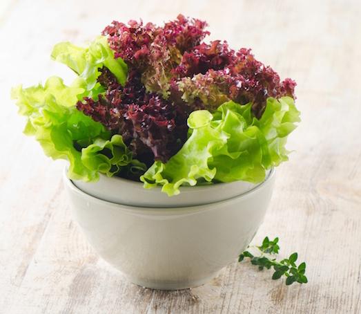 Как вырастить полезные листья салата?