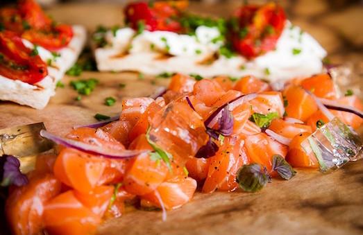 Рецепт приготовления тартара из лосося