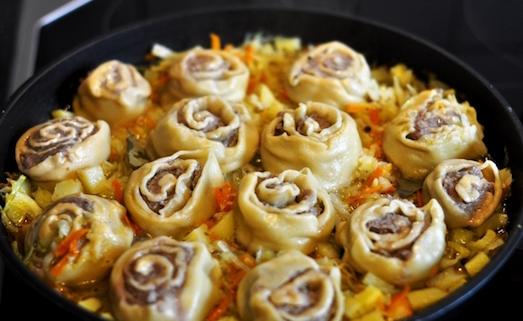 Как приготовить необычное блюдо штрудли?