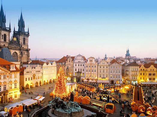 Как празднуют Новый год и Рождество в Праге?