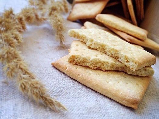 Готовим ароматное галетное печенье