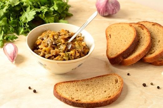 Вкусная и ароматная икра из грибов