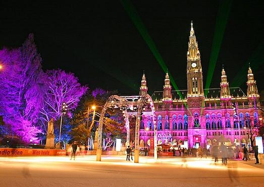 Как празднуют Новый год и Рождество в Вене?
