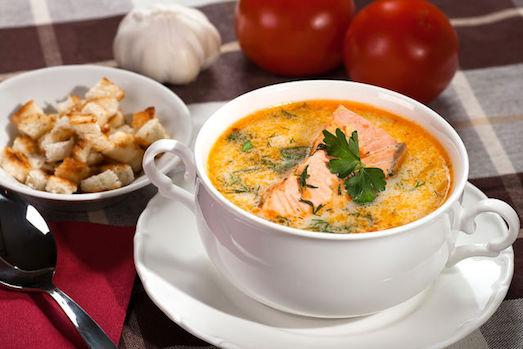 Вкусный и сытный норвежский суп