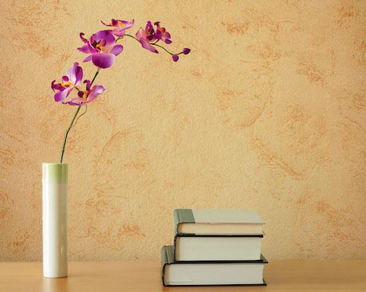 Декоративная штукатурка — оличный материал для интерьера