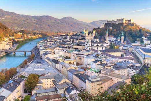 Зальцбург — город, в котором веришь в сказку