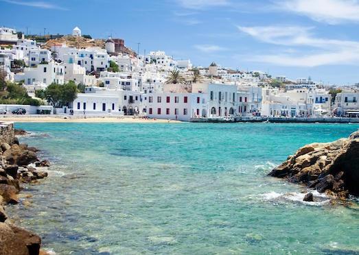 Миконос — отличное место для отдыха