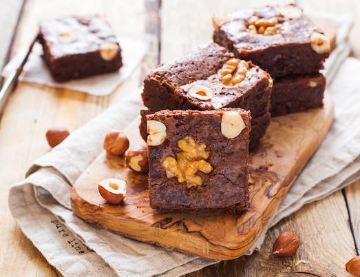 Брауни — шикарный десерт из шоколада