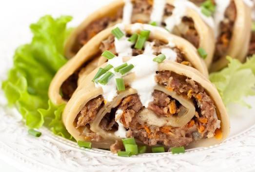 рецепт приготовления узбекского блюда ханум