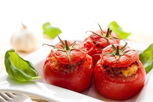 Интересные рецепты фаршированных помидор