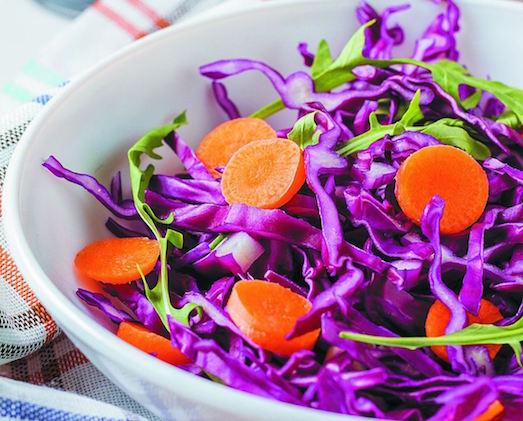 Интересные блюда из красной капусты