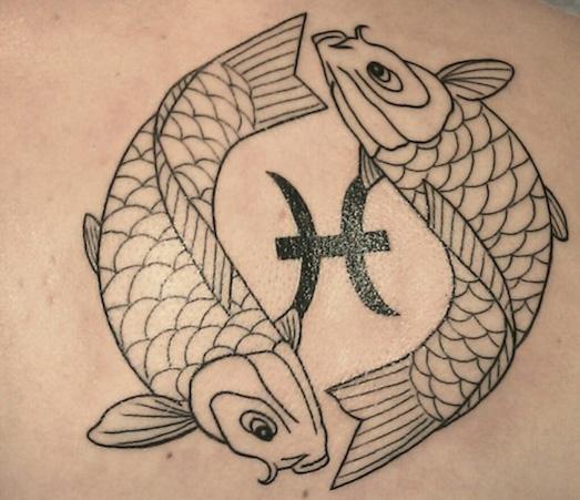 Интересные варианты татуировок со знаками зодиака