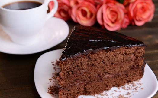 Сладкий и очень ароматный пирог из кофе