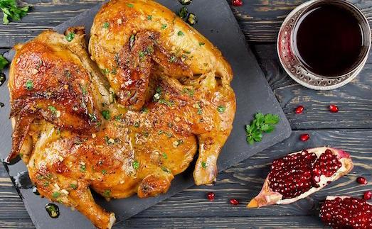 Цыпленок табака — оригинальное блюдо