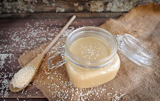 Вкусная и полезная паста из кунжута