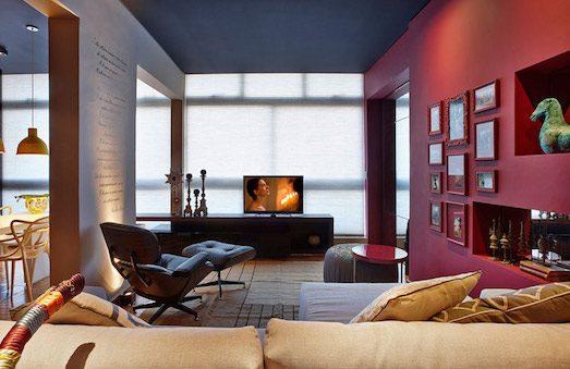 Как использовать бордовый цвет в интерьере?