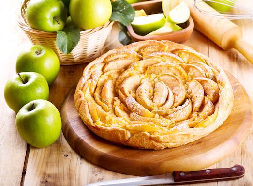 Тарт Татен — простой, но очень вкусный десерт